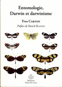 2011 Couverture ouvrage Ent. Darwin et Darwinisme